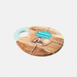 意式乡村风圆形菜板披萨板 | 简约高质量设计 厚实有分量