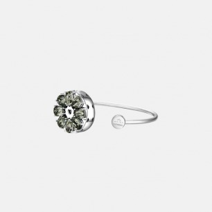 绽放系列 银灰手镯   智能珠宝 独特精致