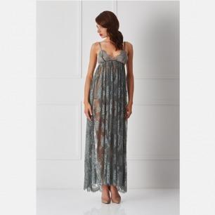 极致魅惑 蕾丝裸背长裙 | 强调腰部线条 合理的剪裁