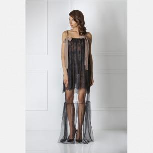 极致性感双层蕾丝吊带睡裙 | 强调腰部的线条 合理剪裁