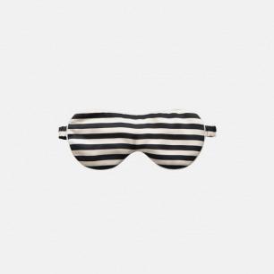 复古风黑白摩登 条纹眼罩 | 舒适睡眠好伴侣 经典色系