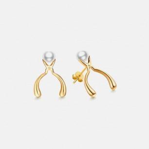 工具宣言系列 钳子耳环 | 工具与身体的佩戴关系