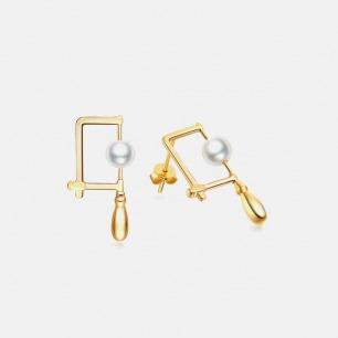 工具宣言系列 锯弓耳环 | 工具与身体的佩戴关系