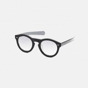 纯手工打造复古眼镜   结合当代艺术拼接眼镜