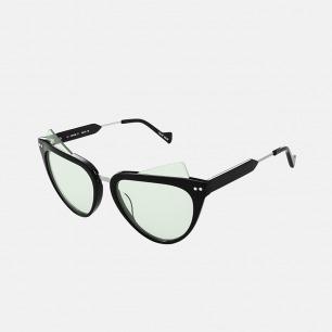猫眼浅色镜片太阳眼镜   完美修饰亚洲人的脸型