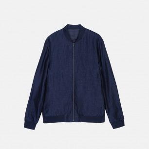 时尚MA1飞行员夹克 日本进口棉麻混纺