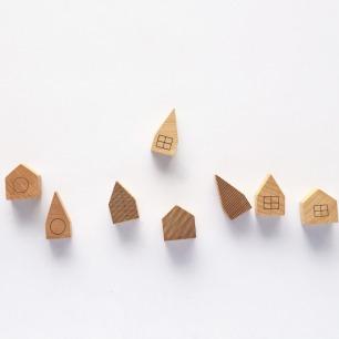 可爱小屋顶磁贴冰箱吸 | 童真趣味 多款可选