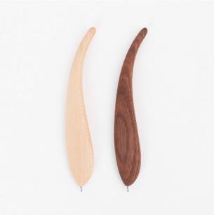 轻灵流畅 原木羽毛笔 | 书写就像羽一样轻灵