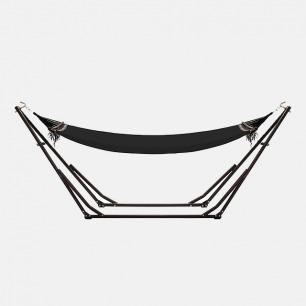 可携式吊床+吊床椅 | 日本原装进口 3WAY独立式简约质感 【附衣架杆 两色可选】