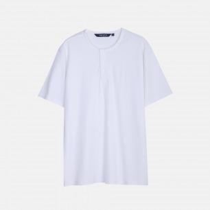亨利领T恤 | 舒适透气 滑润凉爽【两色可选】