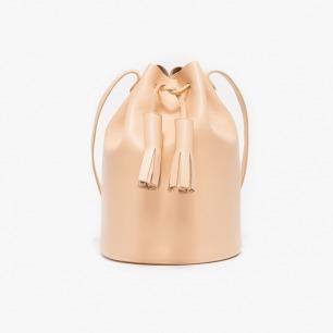 Cylinder Sling流苏缀饰水桶包