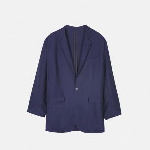 八分袖休闲西装 | 天丝麻料混纺 舒适时髦