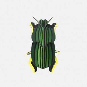 圣甲虫纸模型 | 简约却不失独特