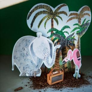 大象丛林纸模型 | 源自荷兰的纸品艺术