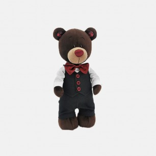 Choco小熊新郎玩偶 | 送给孩子最好的礼物