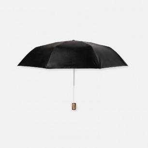 短柄防晒伞 天然木材手柄 | 高强度防晒 超强韧伞骨架