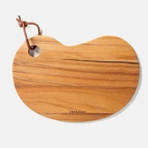 柚木砧板 | 自然原木 安全无污染【两款可选】