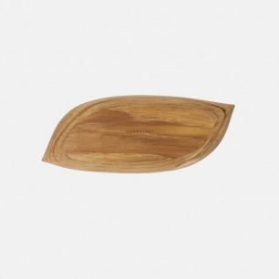 柚木树叶托盘 | 适合咖啡桌 茶几 餐桌