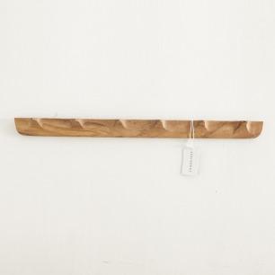 金合欢木衣帽挂钩 | 原木材质