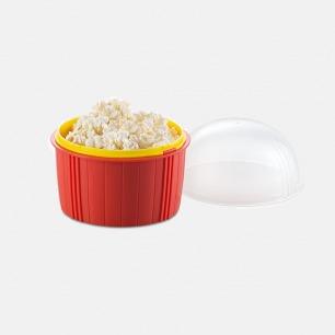 微波烹饪爆米花碗 | 在家也能吃到你专属的爆米花【红色】