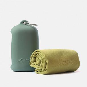 口袋式户外旅行浴巾 | 强力吸水速干 抗菌易清洗