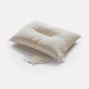 天然乳胶颗粒单人枕头   凹槽设计 高低可调