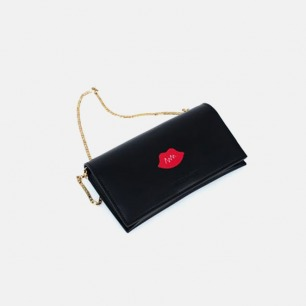 江疏影联名款红唇手包 | 方便手提,时髦感