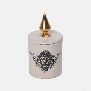 狮子头图案香薰蜡烛 | 巴洛克的奢华带进日常生活