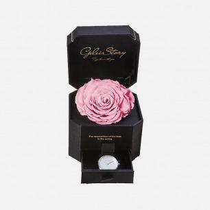 玫瑰永生花腕表礼盒-3款 | 奢华情人节礼物