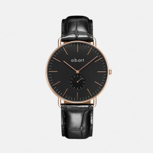 瑞士手表石英表 黑表盘 | 令人眼前一亮的别致感