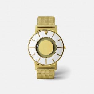 金色触觉腕表 | 用触摸就能感知时间