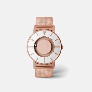 典雅玫瑰金触觉腕表 | 用触摸就能感知时间