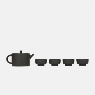 看见·墨兰茶器 | 紫砂套装