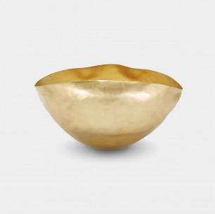 手工捏制的黄铜容器-大号 | 英国鬼才设计师的生活美学