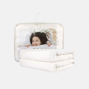 四季优质儿童100%羊毛被 | 保暖恒温 有效抗菌 防潮透气
