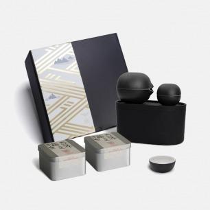 小巨蛋×巴九灵时光小黑盒礼盒 | 一茶一器 回味美好时光