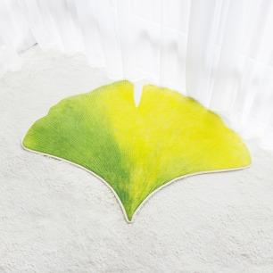 环保又新鲜的银杏叶地毯 | 优质亲肤儿童短毛绒