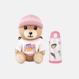 COCO Bear 儿童保温杯 | 24h保温轻量质感 防漏水设计【两色可选】
