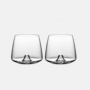 北欧简约威士忌酒杯x2 | 用它喝酒都觉得很高级
