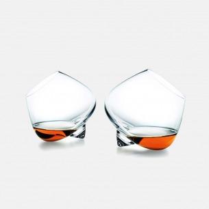 干邑白兰地酒杯x2 | art deco般的紫醉金迷