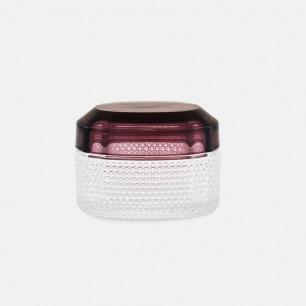 宝石玻璃收纳盒 | 半透明雾面质感