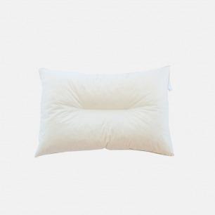 天然乳胶颗粒单人枕   凹槽设计 撑托头颈