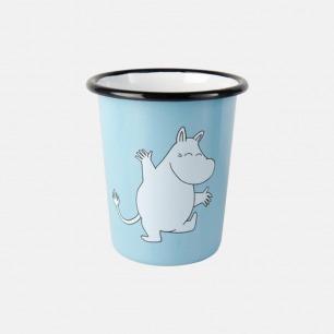 姆明陪你喝水 搪瓷直身杯   芬兰进口珐琅材质 共两款