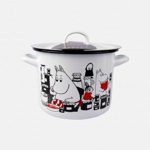 姆明搪瓷珐琅炖锅烤盘   在厨房中体验童话的乐趣