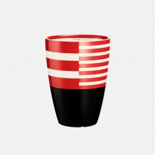 弧形双层隔热马克杯-红 | 漂亮喝水的理由