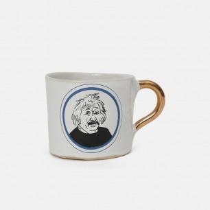 阿尔伯特•爱因斯坦马克杯 | 名人系列 复古浪漫