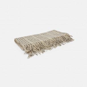 格纹羊毛毛毯 | 100%纯墨西哥羊毛
