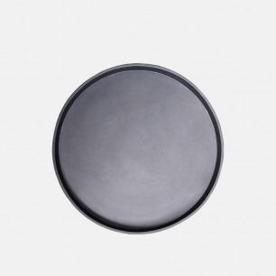 墨兰茶盘 | 碳陶大师汤建华制作