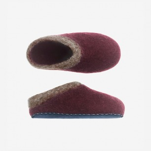 TOAST ORGANIC HAND FELTED SLIPPERS