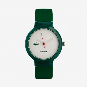 Lacoste绿色橡胶手表